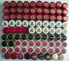 Lot Of 89 Mixed Bottle Caps * Lot De 89 Bouchons De Bouteilles De Boisson