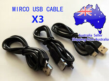 Micro USB Data Sync Charging  Cable X3