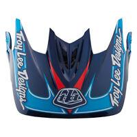 Troy Lee Designs Replacement D3 Helmet Visor Render Navy