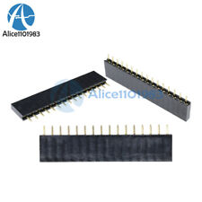 50PCS 16 Pin Single Row Female Straight Header Strip 2.54mm Pitch