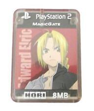 Fullmetal Alchemist Edward Eric Hori Magic Gate PS2 Memory Card PlayStation 2
