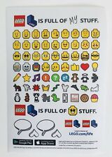 LEGO Stickers Lot of 20 Ninjago Movie Lego Life Emoji App Mini Lego Faces Heads