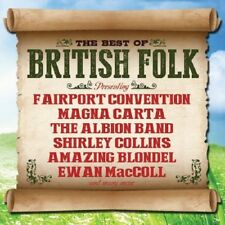 Best Of British Folk 2-CD NEW SEALED Albion Band/Trevor Lucas/Shirley Collins+