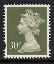 GB 1993 sg Y1694 30p Deep Olive-Grey photogravure 2 bands MNH ex Y1688