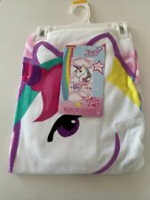 "JoJo Siwa Dreaming of Unicorns Beach Towel 28"" x 58"""