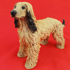 "AFGHAN HOUND Figurine 5.2""tall Porcelain Made Italy NEW NEVER SOLD by CASTAGNA"