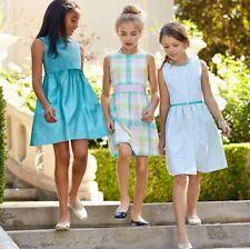 Brooks Brothers Girls Pastel Check Dress Size 8