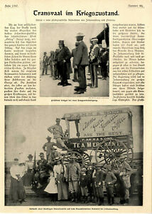 Transvaal im Kriegszustand Südafrika Präsident Krüger Hospital Johannesburg 1899