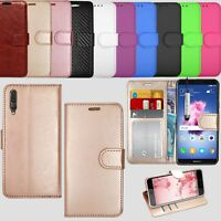 Flip Leather Wallet Case Cover For Huawei Honor 10  / Y6 2018 / Honor View 10 7A