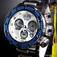 Invicta Reserve Subaqua Sea Dragon Swiss Blue White Chronograph 52mm Watch New