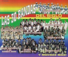 Las 30 Bandas Del Siglo by Various Artists (CD, 1997, 3-Discs, Fonovisa)