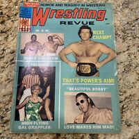 """Wrestling Review'' Magazine, Sept. 1971, M&M, Toni Rose, Gal Grappler"