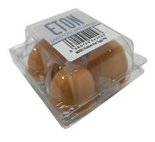 Eton Rubber Nest Crock Dummy Fake Eggs Bantam Hen Sizes Pack Of 4 Egg