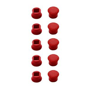 10 Pack Rubber Mouse Pointer TrackPoint Red Cap for IBM Thinkpad Laptop Nipple
