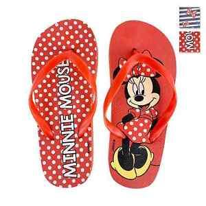 Ciabatte infradito in gomma per bambina Disney Minnie 4104