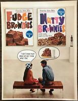 ORIGINAL 1966 Pillsbury Brownie Mixes PRINT AD Art Gallery