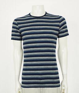 Icebreaker Anatomica Wool Blend Blue Tech Tee Shirt Mens Medium
