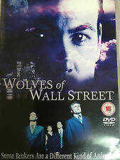 The Wolves of Wall Street DVD 2011 Finance World Crime Thriller Film Movie