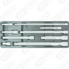 KS Tools kipp-verlängerungs-satz,9 piezas 1/4 -1/2 pulgadas kippwinkel 8°