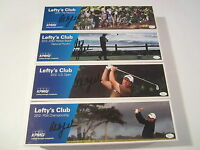 Phil Mickelson 4 Mini Clubs 1 Mini Golf Bag SET Signed AUTO JSA COA CAS