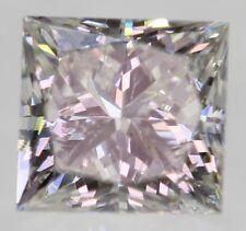 Certified 0.47 Carat F Color VS2 Princess Natural Loose Diamond 3.98x4.18mm 2VG