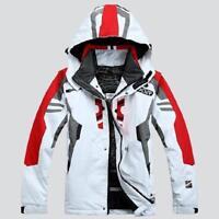 Men's Waterproof Coat Hood Ski Suit Jacket Winter snowboard Pants Sets Outdoor