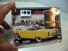 ZIPPO ACCENDINO LIGHTER FORD MOTOR COMPANY COLLECTOR EDITION THUNDERBIRD NEW