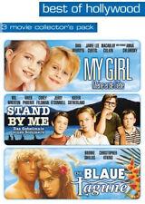 3DVDs- DIE BLAU LAGUNE / MY GIRL / STAND BY ME *NEU*OVP