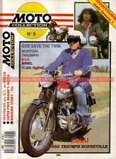 MOTO COLLECTION  6 Jean NOUGIER TRIUMPH 650 Bonneville NORTON BSA OSSA PROTAR