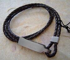 Dyrberg Kern DK man Leder Armband Barlow brown
