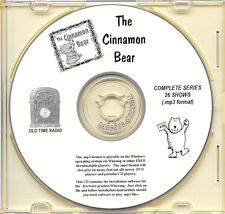 THE CINNAMON BEAR - 26 Shows Old Time Radio In MP3 Format OTR 1 CD