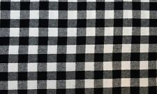 "Cotton Flannel Plaid Tartan Fabric By The Yard # 23 - 60""W"