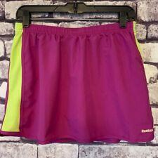 Reebok Purple & Yellow Skort Size M
