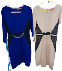 Women Ladies Dresses  Lace Chain   UK size 8-14