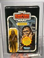 AFA 85 Star Wars 1980 Kenner Chewbacca ESB 41-back-A (C85 B85 F85) CLEAR NM+