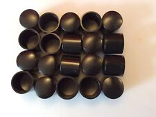 20 off Round Plastic Ferrules or Caps for tube ends
