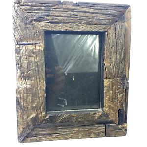 Anthropologie Driftwood Photo Frame