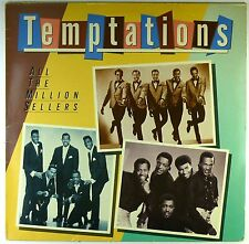 """12"""" LP - The Temptations - All The Million Sellers - M970 - washed & cleaned"""