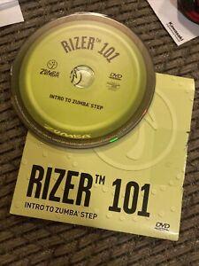 Zumba Rizer 101 DVD Intro To Zumba Step DVD - Fitness, Excersice DVD