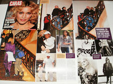 MADONNA IN ARGENTINA 63 CLIPPINGS IN SPANISH - ARGENTINA ULTRA RARE!