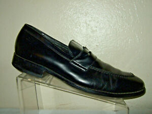 Cole Haan Black Leather Penny Loafer Shoes Men's Size 11.5 Medium