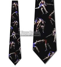 Wrestling Ties Mens Sports Necktie Novelty Tie