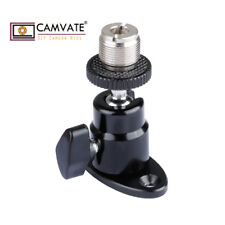 "CAMVATE Adjustable Wall Mount 5/8""-27 Screw Mini Ball Head For DSLR Microphone"