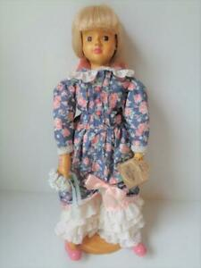 CLAIRE a Robert Raikes Limited Edition Wood Doll with Stand #4999/7500