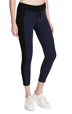 5afa9f1825837 Calvin Klein Performance Womens Navy Heathered Athletic Leggings XS BHFO  0571
