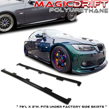 BMW 07-13 3-Series E90 E92 E93 M3 335i Lower Side Skirt Rocker Panel Extension