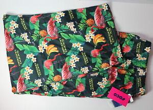 Oregon Ducks Men's 2XL 44-46 Hawaiian Floral NCAA SOFT Pajama Pants NWT