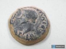 Monedas Ibericas: Moneda de Merida, As de Tiberio.