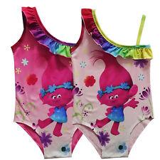 Niño Niña Trolls Traje De Baño Bikini Tankini Natación