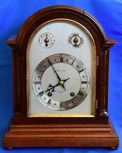 W&H  Winterhalder & Hofmeier ting tang bracket clock Stewart Glasgow